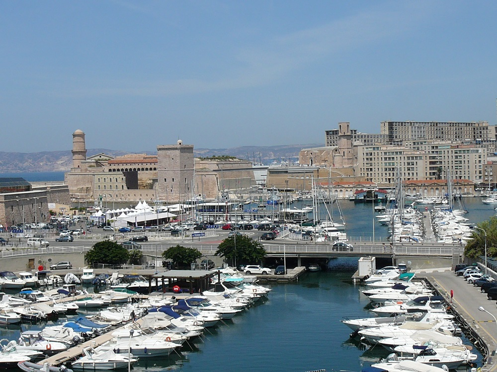 Vieux Port of Marseille on the French Riviera